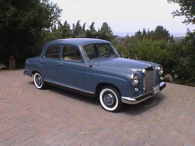 1960 Mercedes Benz 180b 4 Door Sedan