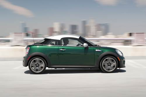 2013 Mini Cooper S Coupe profile